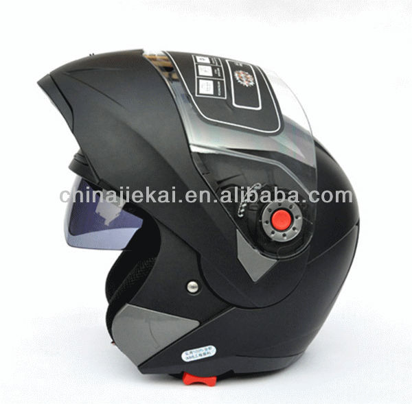 very cool and well received double visor flip up helmet