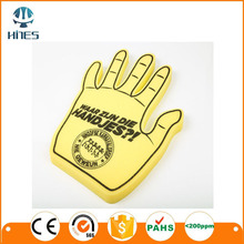 Hines OEM Promotion eva giant wave foam finger cheering hands wholesale Eva big hand for sale , custom foam hand