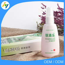 Chinese natural herbal psoriasis eczema cream, spray for skin diseases