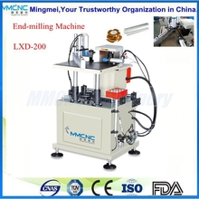 Automatic Feeding End-milling Machine/ Material discharging end milling machine for Aluminum Doors