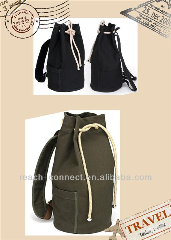 design for 2014 fashion trend backpack brand new canvas bag backpack backpack radio