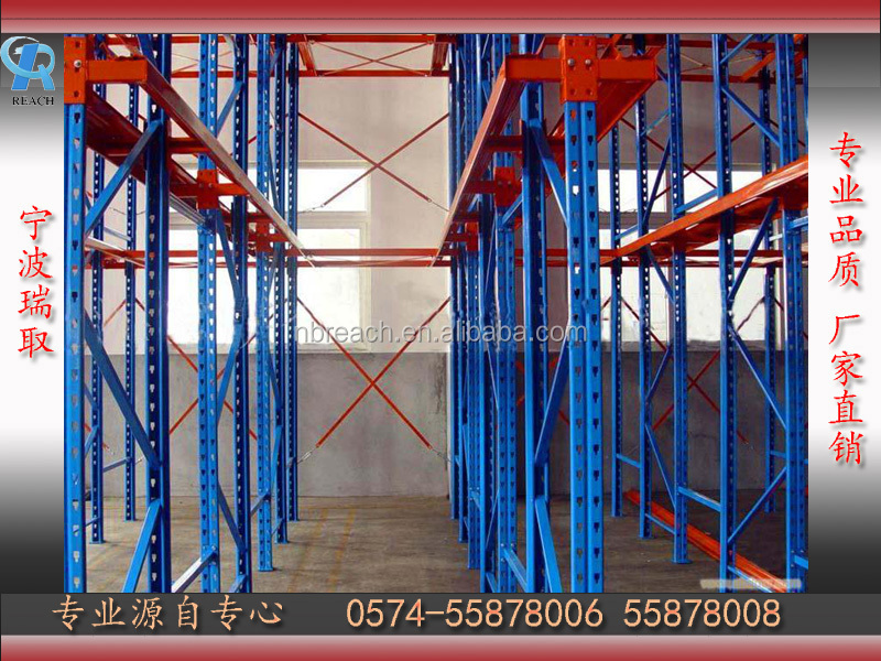 Heavy Duty Scale FILO Drive-Thru Racks Drive in Pallet Racking