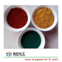 cosmetic grade mica iron oxide powder and red yellow black pigments for making paint/paver/brick/concrete mixing