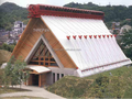 tensile membrane houses of the tourism real estate