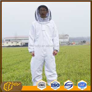 Beekeeping equipment Protective 100% Cotton Beekeeper Safety Clothing Bee Suit Veil