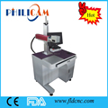CE standard high speed 10w 20w 30w fiber laser metal engraving marking mahcine for metal and nonmetal materials