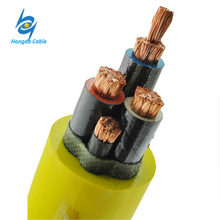 0.3 / 0.5KV Rubber Sheathed Coal Mine Drill Flexible Cable