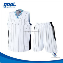 Fashion design colorful eyelet drifit basketball jersey short