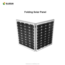 Camping use easy bring monocrystalline 100 watt folding solar panel