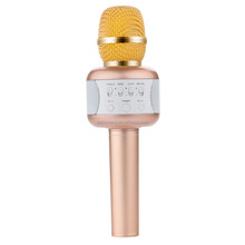 Eshishang E106 5 watt 2200mah capacity USB wireless handhold karaoke microphone compatible with android and IOS smartphone