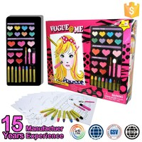 Brand New Fashion Glitter Girl Toys Cosmetic Sets