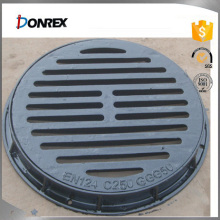 China OEM cast iron manhole covers with ISO9001:2008