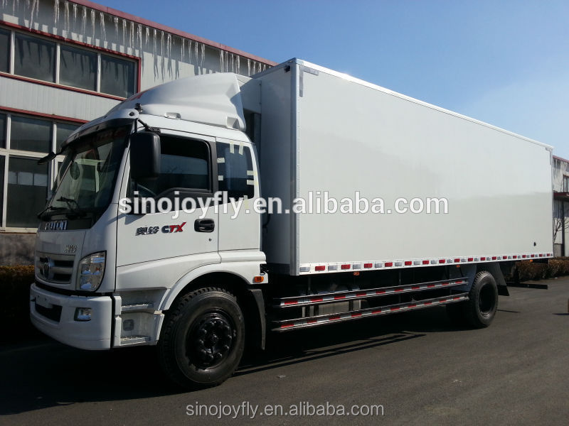 truck cargo body boxes used refrigerated truck / truck body with strong frame
