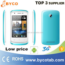 Capacitive screen 3G wifi dual-sim android low end mobile phones