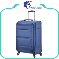 Custom durable nylon spinner trolley travel bag and suitcase