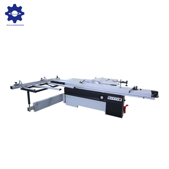 Durable woodworking sliding table saw with ABS board