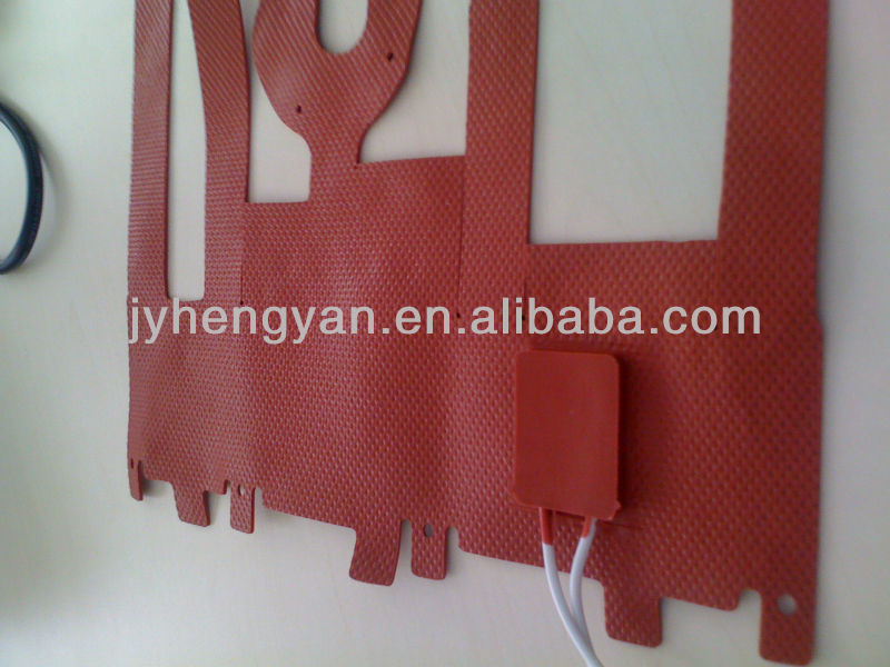 Silicone rubber power mat