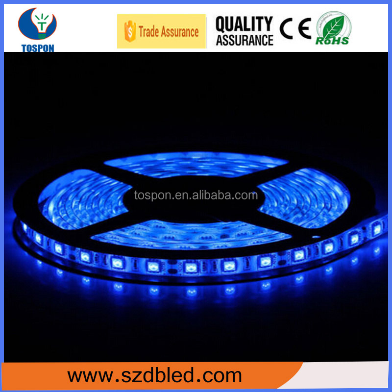5050 epistar color changeable self adhesive backed led strip light