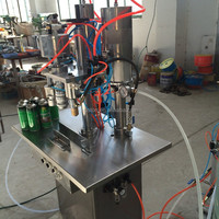 Aerosol Filling And Sealing Machine For
