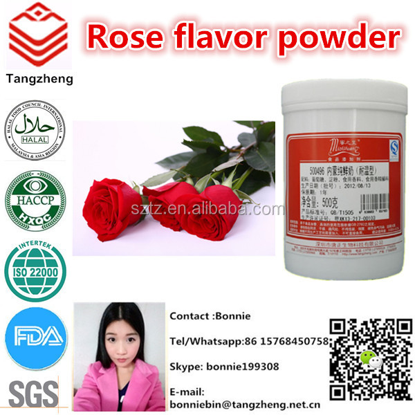 Synthetic rose aroma flavor | rose flavor powder for beverage