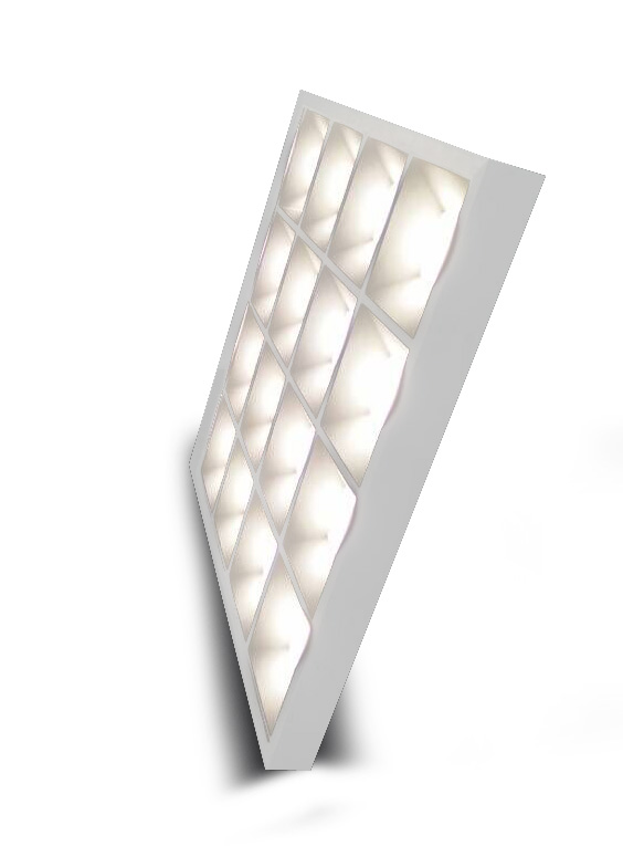 NEW Design school panel lighting 600x600mm office light panels 36W grille panel light fixture