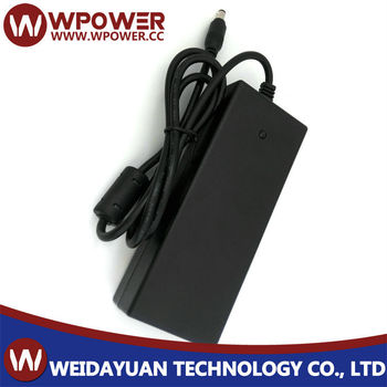 Desktop type 5V 9A power adaptor(right angle Barrel type 5.5x2.1mm DC connector C6 C8 coupler)
