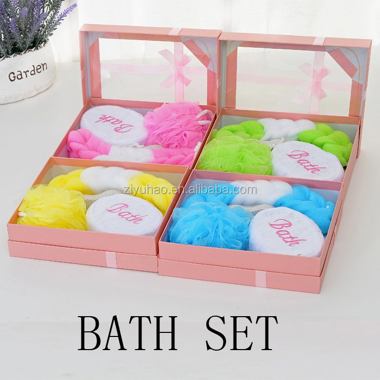 Promotional 5Pcs body and spa Gift Bath Set