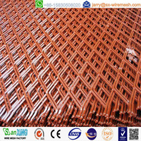 PVC Coated Expanded Stretch Wire Metal