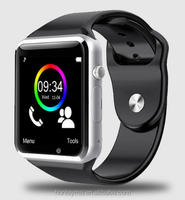 2016 New A1 Bluetooth Smart Watch A1 Wrist Watch Men Sport Watch For Android Phone 0.3Mp Camera SIM+TF Card Slot