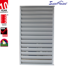 Aluminum shutter window guards channel window withAS2047