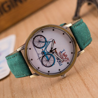 Take you into the world of bicycle, fashion watches