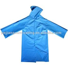 shiny heavy duty long reversible raincoat