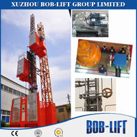 Double Cage Construction Hoist Parts Price