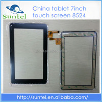 "7"" 7inch china tablet touch screen replacement for 8524"