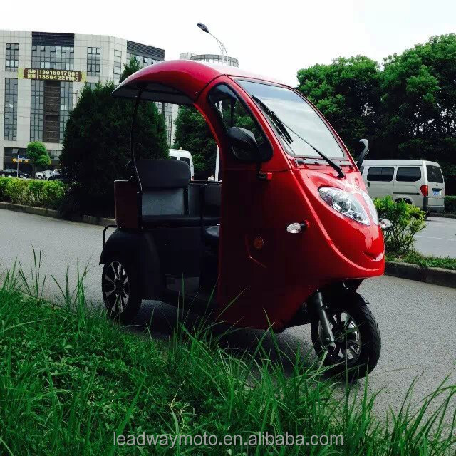 three wheel electric passenger vehicle with EEC