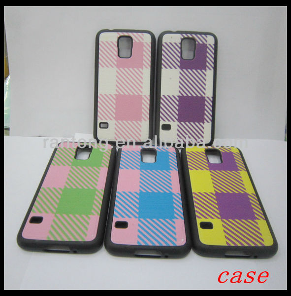 blank sublimation phone cases for samsung galaxy S5 i9600