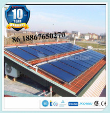 Split Pressurized solar super heat pipe collector for Water Heater, bath, thermal heating, swimming pool, school