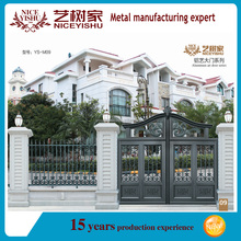 2016 latest main gate designs/philippines gates and fences/aluminium profiles for gate