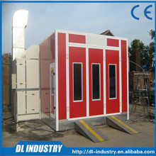 The beautiful appearance spray booth