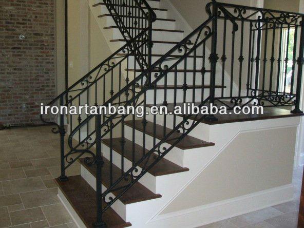Al aire libre de hierro forjado escaleras s 0116 for Escaleras de fierro para casa