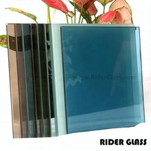 RIDER Float 4mm 5mm 6mm 8mm Bronze Heat Reflective Glass Price For Building