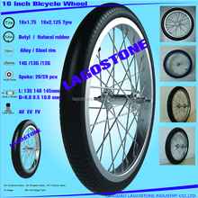16 Inch Bicycle wheel (16x2.125 , 16x1.75)