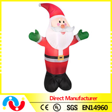 2015 New 3D Light Inflatable Santa Christmas Decoration Led for Sale