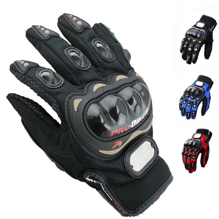 Pro-biker Authentic Motorcycle Riding Auto Engine Protection Guantes Full Finger Protective Luvas Racing Cycling Sport Gloves