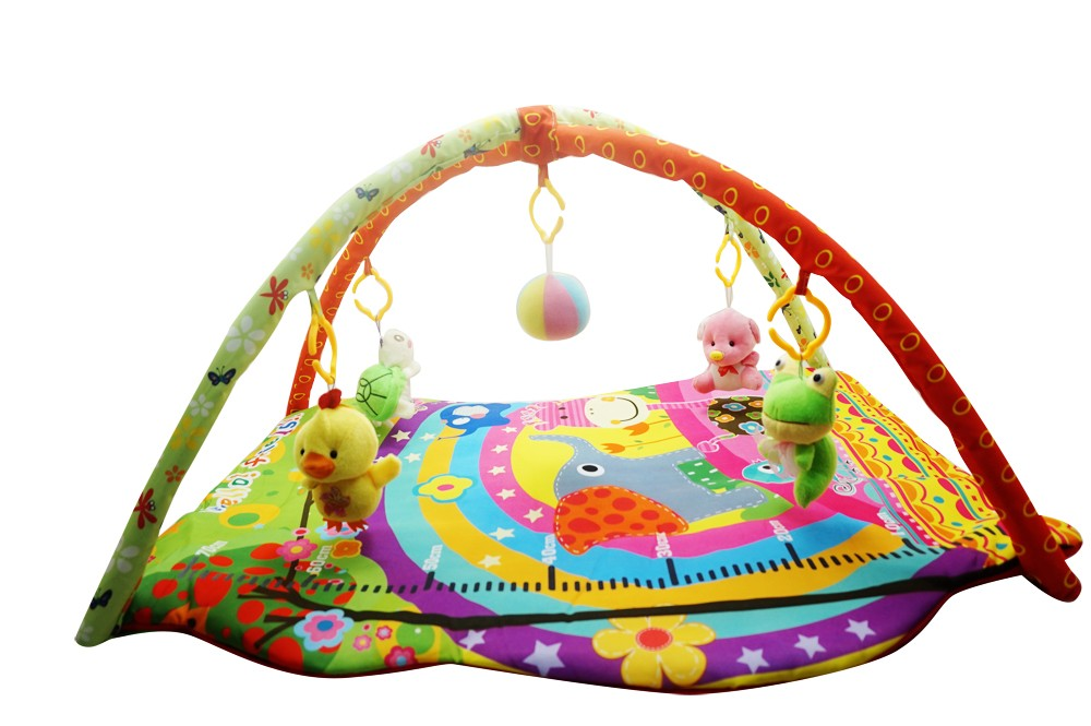 Large Musical activity toddler play gym mat
