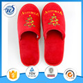 Best selling cheap white color terry towel disposable hotel slippers