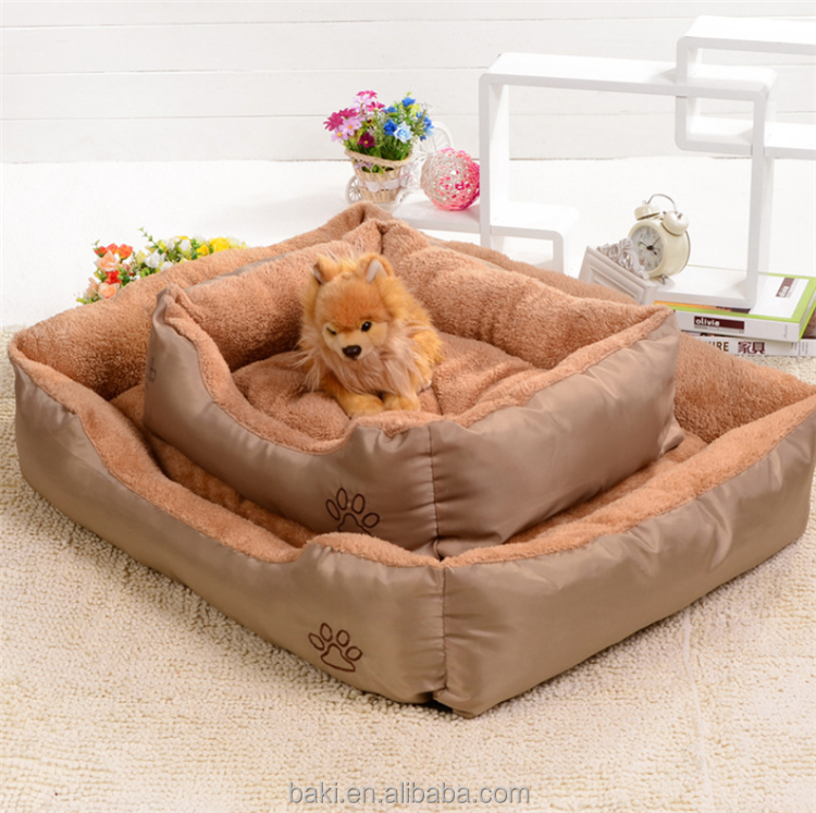 Pets Beds Removable Washable Oxford Fabric Luxury Pet Dog Bed Wholesale