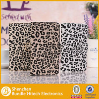 leopard PU cases for galaxy note3 protective covers