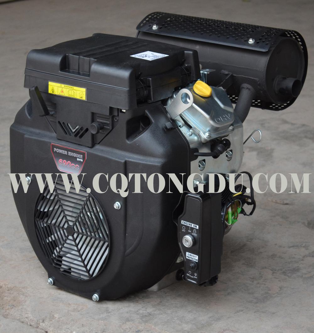 Honda Type 2v78f Gx690 20hp 22hp Engine With China