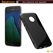 For Moto G5 S Line Gel Cover, Slim TPU Gel Rubber Soft Skin Silicone Protective Case Cover for Motorola Moto G5